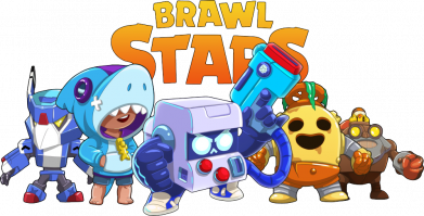 Принт Женская футболка Characters of the game Brawl stars, Фото № 1 - FatLine