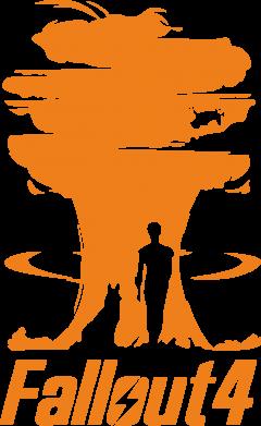 Принт Футболка с длинным рукавом Fallout 4 Art - FatLine