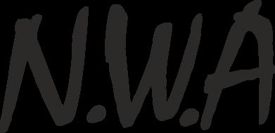 Принт Наклейка N.W.A Logo - FatLine