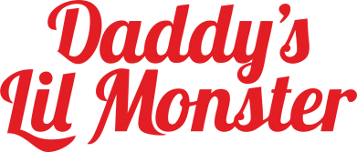 Принт Фартук Daddy's Lil Monster - FatLine