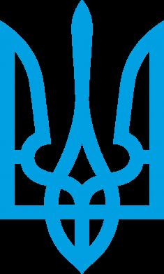 Принт Женская майка Класичний герб України - FatLine