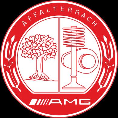 Принт Женская футболка AMG - FatLine