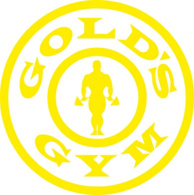 Принт Майка-тельняшка Gold's Gym - FatLine