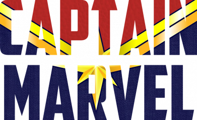 Принт Жіноча футболка Captain marvel inside star, Фото № 1 - FatLine