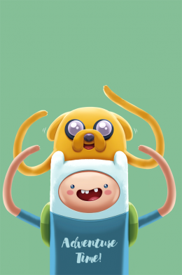 Принт Чехол для Samsung A7 2016 Finn and Jake Art - FatLine
