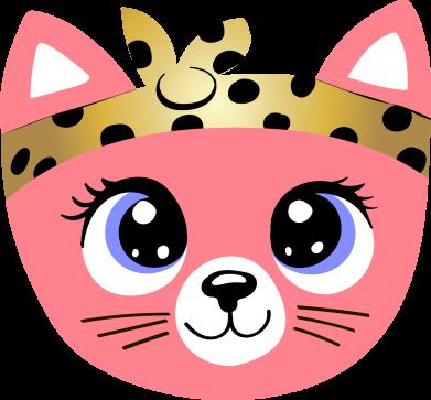 Принт Женская футболка Cat pink, Фото № 1 - FatLine