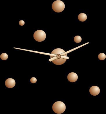 Принт Жіноча футболка Watches with gradient, Фото № 1 - FatLine