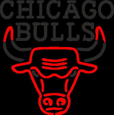 Принт Женская футболка поло Chicago Bulls Logo - FatLine