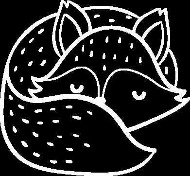 Принт Жіноча футболка Sleeping fox, Фото № 1 - FatLine