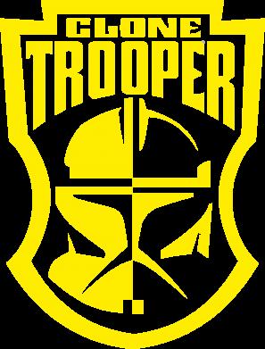 Принт Мужская майка Clone Trooper - FatLine