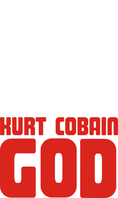 Принт Реглан Kurt Cobain GOD - FatLine