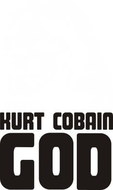 Принт Кружка 320ml Kurt Cobain GOD - FatLine