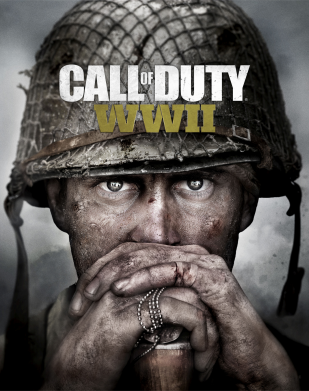 Принт Жіноча футболка Call of Duty WW2 poster, Фото № 1 - FatLine