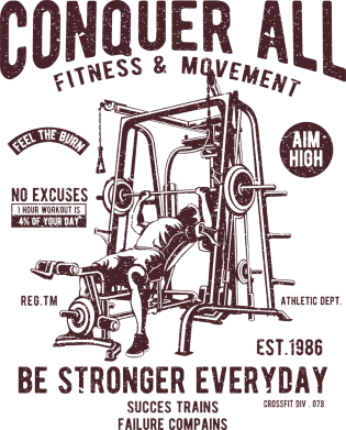 Принт Жіноча футболка Conquer All, Фото № 1 - FatLine