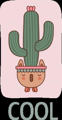 Принт Мужская толстовка Cactus art, Фото № 1 - FatLine