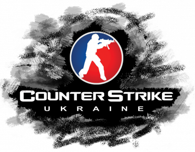 Принт Женская футболка CS GO Ukraine black, Фото № 1 - FatLine