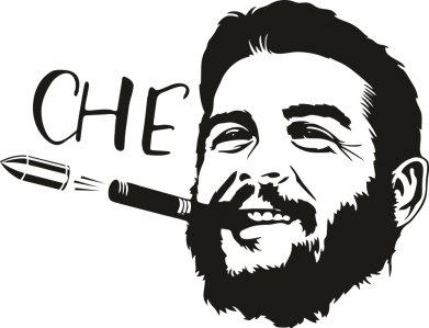 Принт Жіноча футболка Сhe Guevara bullet, Фото № 1 - FatLine