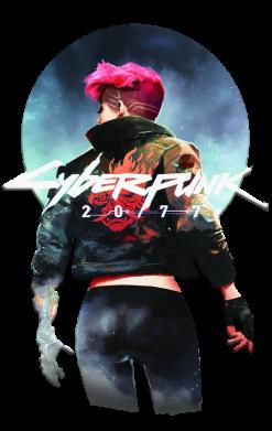 Принт Жіноча футболка Cyberpunk girl, Фото № 1 - FatLine