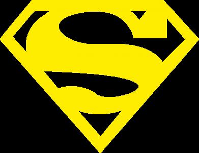 Принт Мужские трусы Superman одноцветный - FatLine