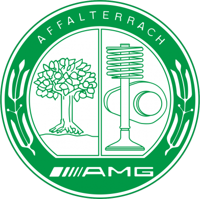 Принт Мужская толстовка на молнии AMG - FatLine