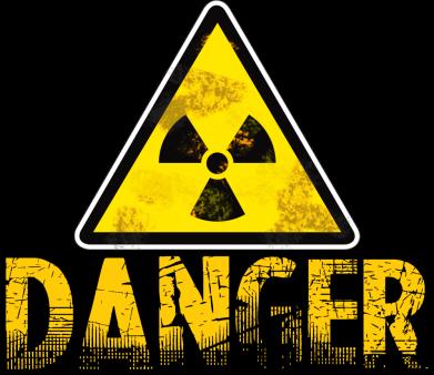 Принт Чоловіча футболка Danger icon, Фото № 1 - FatLine
