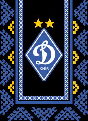 Принт Женская футболка Dynamo logo and ornament, Фото № 1 - FatLine