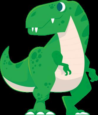Принт Жіноча футболка Green little dinosaur, Фото № 1 - FatLine