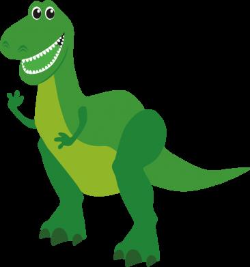Принт Женская футболка Dino toy story, Фото № 1 - FatLine