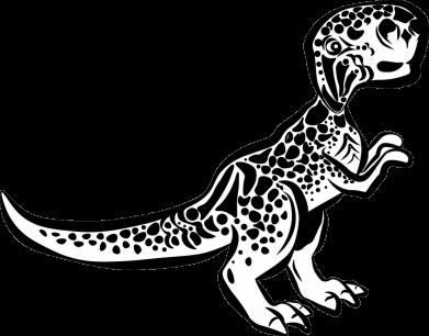 Принт Жіноча футболка Spotted baby dinosaur, Фото № 1 - FatLine