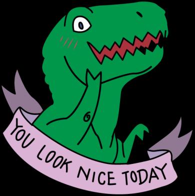 Принт Жіноча футболка You look nice today, Фото № 1 - FatLine