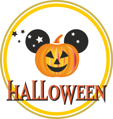 Принт Футболка Поло Halloween Disney - FatLine
