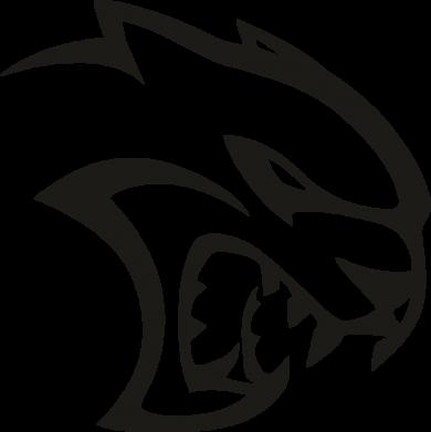 Принт Жіноча футболка Dodge Hellcat SRT, Фото № 1 - FatLine