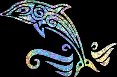 Принт Кепка Dolphin tattoo, Фото № 1 - FatLine
