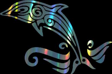 Принт Жіноча футболка Dolphin tattoo, Фото № 1 - FatLine