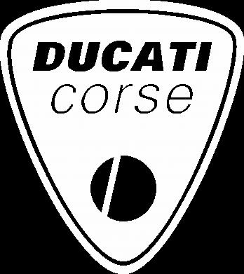 Принт Женская футболка поло Ducati Corse - FatLine
