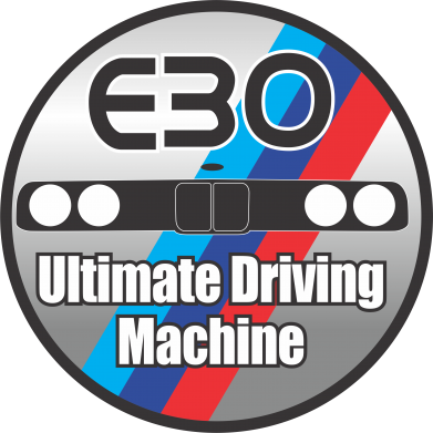 Принт Кружка 320ml BMW E30 Ultimate Driving Machine - FatLine