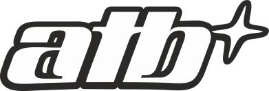 Принт Женская футболка с V-образным вырезом ATB - FatLine