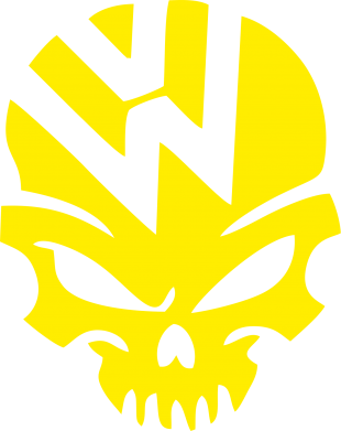 Принт Шапка Volkswagen Skull - FatLine