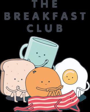 Принт Кружка 320ml The breakfast club, Фото № 1 - FatLine