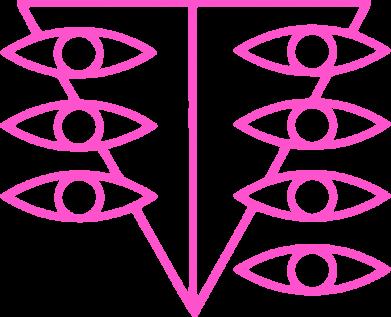 Принт Жіноча футболка Genesis Evangelion Seele logo, Фото № 1 - FatLine