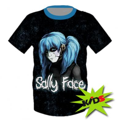 Принт Детская 3D футболка Sally Face 10 - FatLine