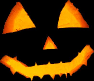 Принт Жіноча футболка Pumpkin face features, Фото № 1 - FatLine
