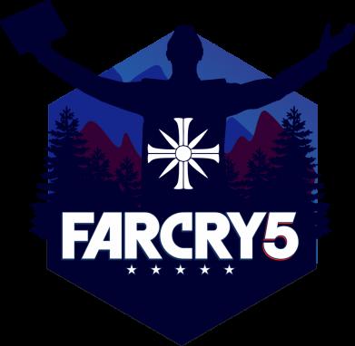 Принт Жіноча футболка Far cry 5 silhouette Joseph Seed, Фото № 1 - FatLine