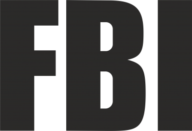 Принт Наклейка FBI (ФБР) - FatLine