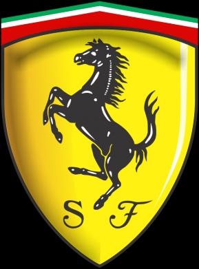 Принт Кепка-тракер Ferrari 3D Logo - FatLine
