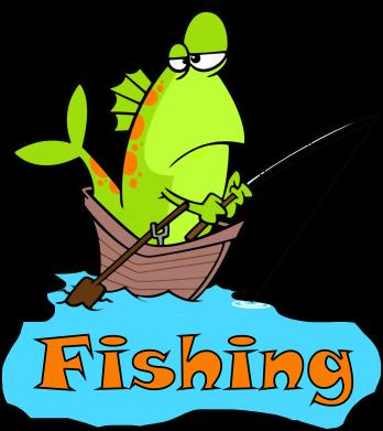 Принт Мужская толстовка Fish Fishing, Фото № 1 - FatLine