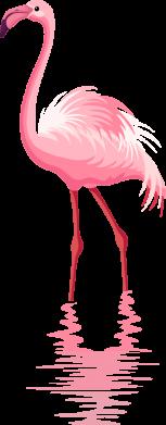 Принт Кружка 320ml Фламинго, Фото № 1 - FatLine