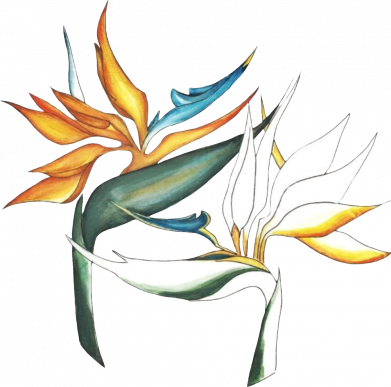 Принт Женская футболка Flowers art painting, Фото № 1 - FatLine