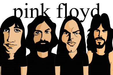 Принт Фартук Pink Floyd Art - FatLine