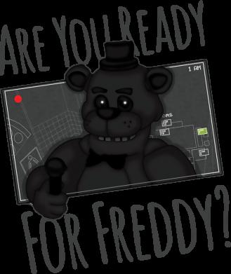 Принт Женская футболка Five Nights at Freddy's 1, Фото № 1 - FatLine